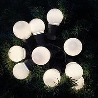 """Световая гирлянда """"Ретро"""" - 5 метров, 10 лампочек, тёплый свет, светит постоянно"""