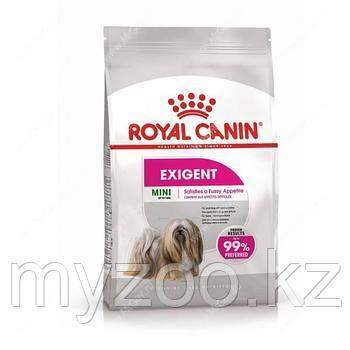 Royal Canin MINI EXIGENT, 3 kg Корм для привередливых собак мелких пород до 10 кг.