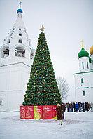 Уличная искусственная каркасная Елка Уральская (хвоя-леска), высотой 11 м, фото 1