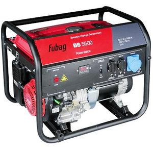 Генератор бензиновый Fubag BS 5500 AES 5 кВт