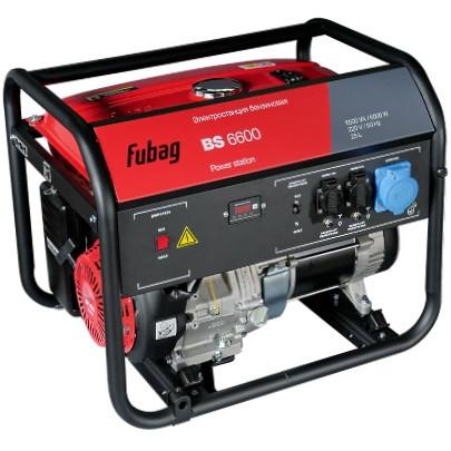 Генератор бензиновый BS 6600 6 кВт