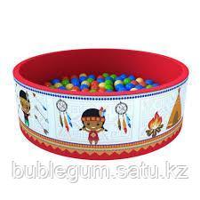"""Сухой бассейн """"Индейцы"""" + 200 шаров в подарок"""