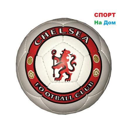Кожаный командный футбольный мяч Chelsea Football Club, фото 2