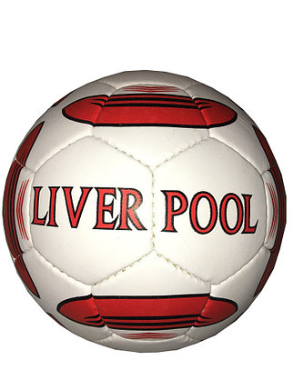Кожаный командный футбольный мяч LIVERPOOL, фото 2