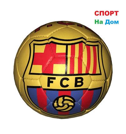 Кожаный командный футбольный мяч BARCELONA, фото 2