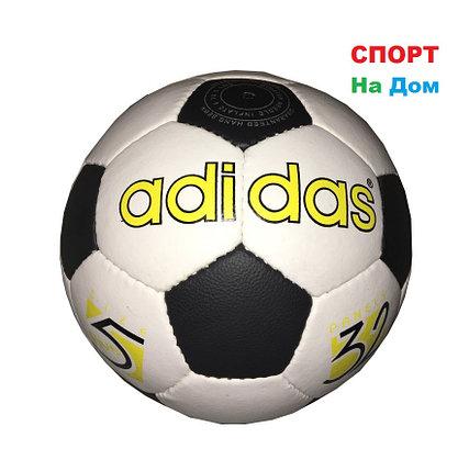 Кожаный командный футбольный мяч ADIDAS (реплика), фото 2