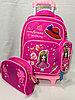 Школьный рюкзак на колесах,для девочек с 1-го по 3-й класс.Высота 47 см, длина 28 см, ширина 22 см.