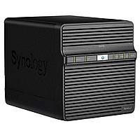 Сетевой RAID-накопитель, Synology DiskStation DS418j 4xHDD NAS-сервер для дома и бизнеса, фото 1