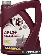 Антифриз Концентрат красный MANNOL Longlife Antifreeze AF12+ Concentrate 5кг.