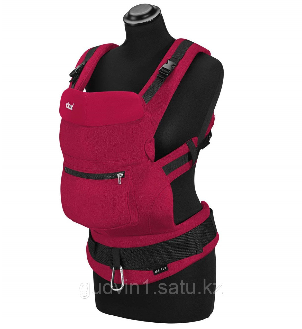 Рюкзак-переноска CBX My.Go Comfy Red 1149563