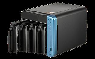 """Сетевой RAID-накопитель Qnap TS-453Be-4G, 4 отсека 3,5""""/2,5"""", 2 HDMI-порта. Intel Celeron J3455 1,5 ГГц, 4 ГБ."""