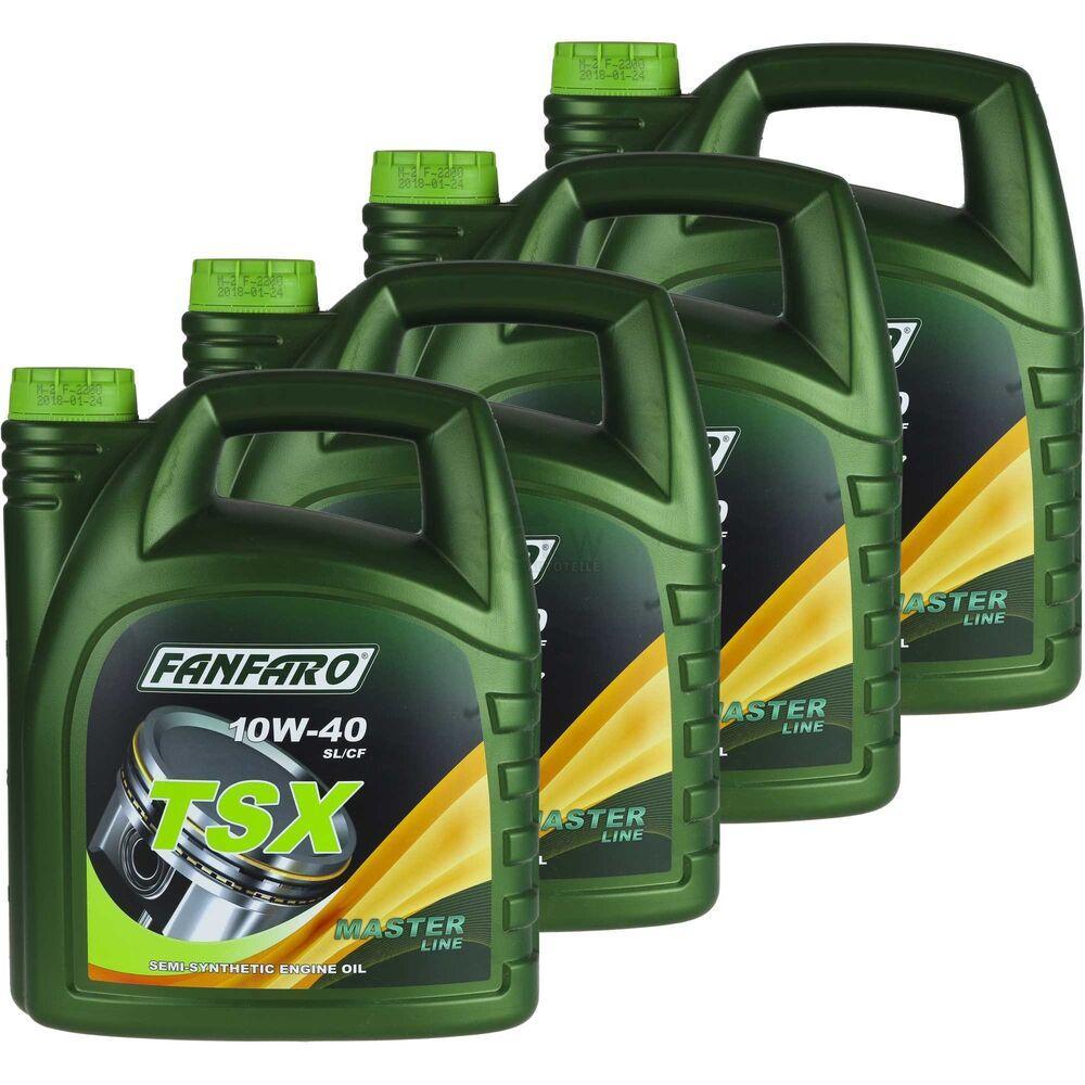 Моторное масло FANFARO TSX 10W-40  4L