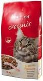 Bewi Cat Crocinis (курица, индейка, рыба) 20кг Сухой корм для взрослых кошек из смеси трех видов крокет