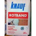 Гипсовая штукатурка Ротбанд (Rotband Кнауф).