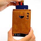 Кожаный купюродержатель i.m.p с защитой от воровства - технология RFID, фото 9