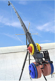 PROAIM/10 м/ СУПЕР КОМПЛЕКТ с телескопической стрелой и головкой