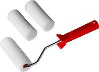 """Валик """"ПОРОЛОН"""" в наборе: 3 шубки + ручка, 100 мм, d=40 мм, MIRAX, фото 1"""