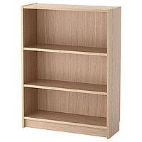 Стеллаж БИЛЛИ дубовый шпон, беленый ИКЕА, IKEA, фото 1