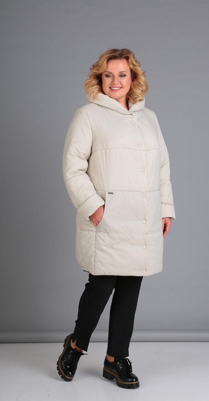Куртка Диамант-1448, молочный, 48
