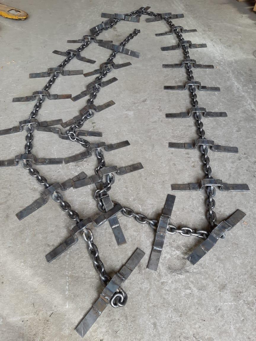 Цепь со скребками РПМ-03.03.000 (скребок 450 мм)