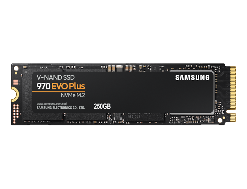 SSD Накопитель Samsung 970 EVO PLUS 250GB MZ-V7S250BW