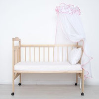 Балдахин 'Эдельвейс', размер 170х300 см, цвет розовый