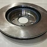 Тормозной диск передний SUZUKI GRAND VITARA 2005-2012, DODA, CHINA, фото 2