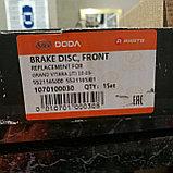 Тормозной диск передний SUZUKI GRAND VITARA 2005-2012, DODA, CHINA, фото 4