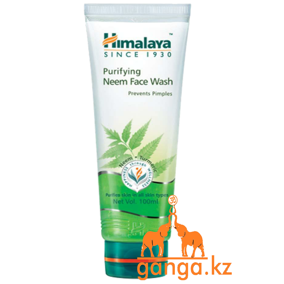 Гель для умывания лица с Нимом (Neem Face Wash HIMALAYA), 100 мл