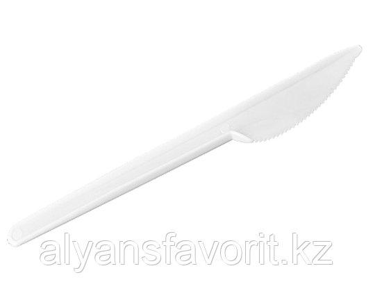 Нож столовый белый 160 мм. РФ, фото 2