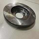 Тормозной диск передний HYUNDAI ELANTRA, KIA CERATO, LANCER, VALEO, KOREA, фото 3