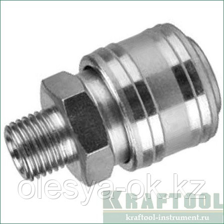 Переходник для пневмоинструмента, KRAFTOOL EXPERT QUALITAT 06594, фото 2
