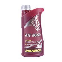 Трансмиссионное масло для АКПП MANNOL ATF AG60 для автомобилей Alpina, Aston Martin, Audi, BMW 1L