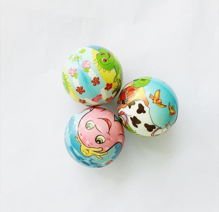 Мяч мягкий Смайлики, d7,5см (Р987-32)