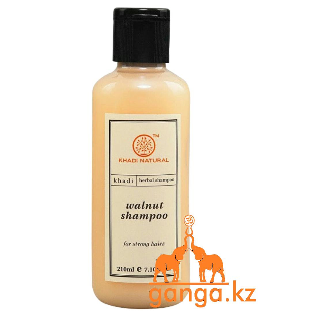 Шампунь натуральный с Грецким Орехом KHADI Natural  (Walnut Shampoo), 210 мл.