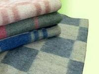 Одеяло полушерстяное байка армейское 140*205, фото 1