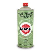 Трансмиссионное масло MITASU GEAR OIL GL-5 75W-90 1L для применения в раздаточных коробках, дифференциалах