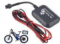 Мини GPS, GPRS, GSM трекер для велосипеда, мотоцикла, автомобиля. Позволяет отследить местоположение.