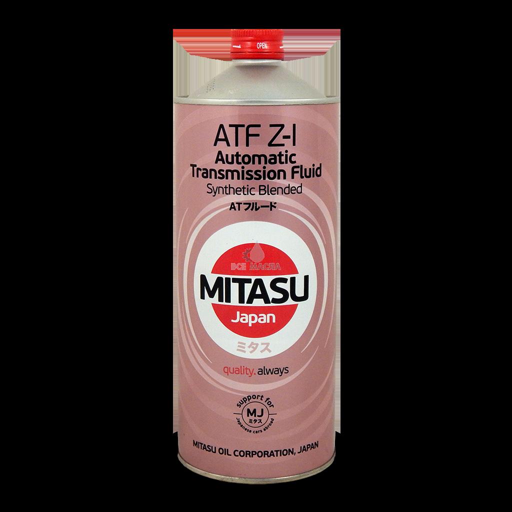 Трансмиссионное масло для АКПП MITASU ATF Z-I Synthetic Blended для всех автомашин HONDA 1L