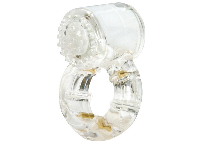 """Эрекционное кольцо с вибрацией """"Climax® Gems™ Quartz Ring"""", 3.8 см"""