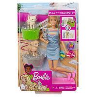 """Mattel Barbie Барби Игровой набор """"Кукла и домашние питомцы"""""""