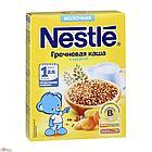 """Каша """"Nestle"""" гречневая с курагой, молочная  с 6 мес. 220 г"""