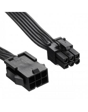 Кабель удлинитель PCI-E 6 pin - 6 pin для видеокарты, фото 2