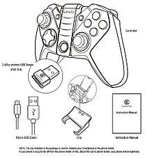 Bluetooth Геймпад GameSir G4s для Телефона и Компьютера, фото 3
