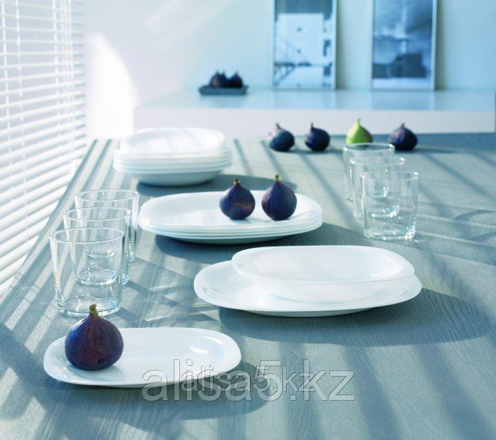 Сервиз столовый CARINE White 18 предметов