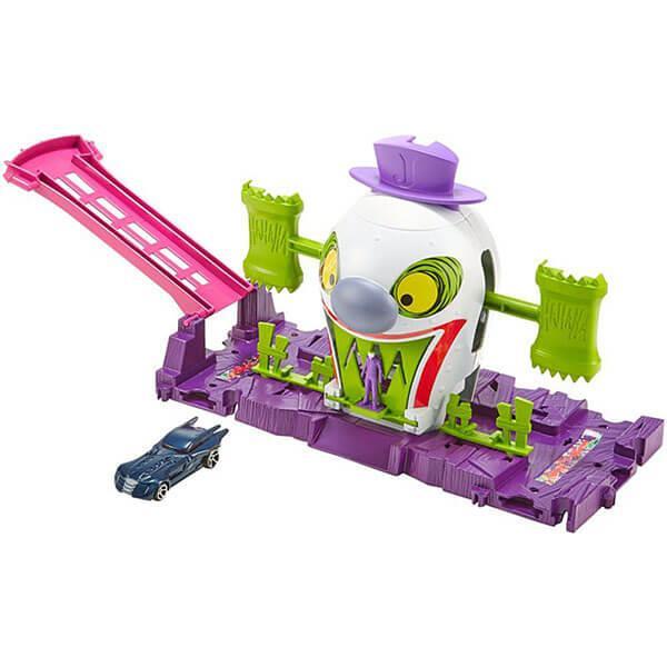 Mattel Hot Wheels Хот Вилс Готэм Сити игровые наборы Джокер - фото 3