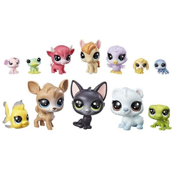 """Hasbro Littlest Pet Shop Литлс Пет Шоп Игровой набор """"12 счастливых петов"""""""