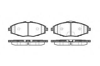 Колодки тормозные передние ZAZ Chance