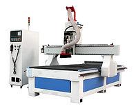 Фрезерно-гравировальный станок с прямой линейной автоматической сменой инструмента SANGE-2130-8-ATC-CNC Machin