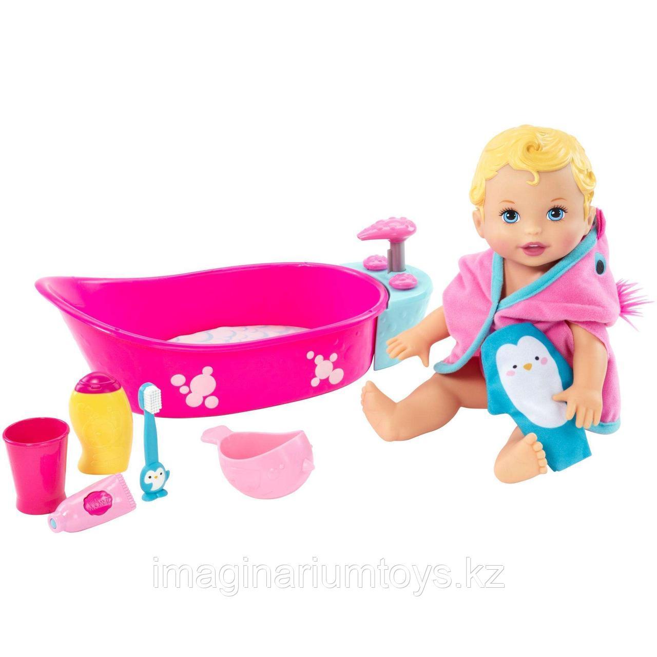 Кукла с ванной делюкс Little Mommy Bubbly Bathtime